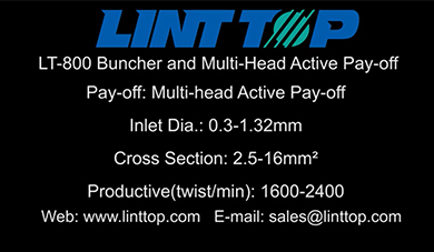LT 800 Buncher and Multi Head Active Pay off