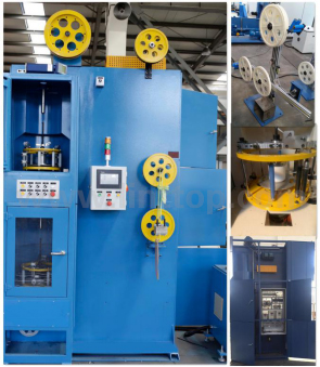 Double Head Vertical Taping Machine