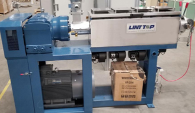 The Dispatch of FTTH Drop Cable Extrusion Machine Line