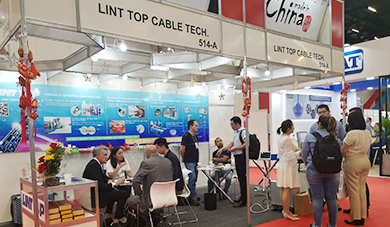 Lint Top at wire South America 2019